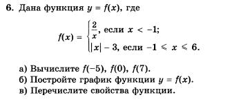 Контрольная работа № Вариант Задание № Алгебра класс  ГДЗ по алгебре 8 класс Мордкович Домашняя контрольная работа №5