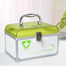lockable medicine box. Exellent Medicine Glosen First Aid Box Lockable Medicine Storage With Child Safe Lock  846 Throughout A
