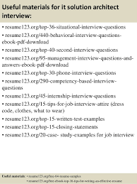 12 architecture resume example