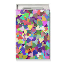 <b>Коробка для чехлов</b> Орнамент Яркие сердечки #2660276 от ...