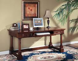 gorgeous computer writing desk by kathy ireland furniture plus table lamp and pretty carpet for office
