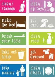 Task Charts For Preschoolers Awesome Chore Charts That Work Landeelu Com