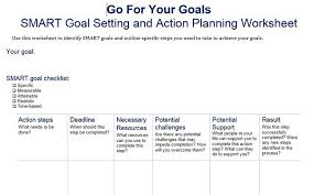 Smart Goals Template 40 Smart Goals Templates Ready To Use Excel Pdf Word