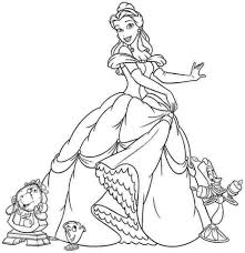 Small Picture Get This Princess Belle Girls Coloring Pages to Print Online 46291