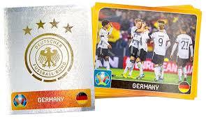 Panini uefa euro 2020 adrenalyn xl würfel draft challenge. Uefa Euro 2020 Offizielle Stickerkollektion Dfb Sticker Komplettset
