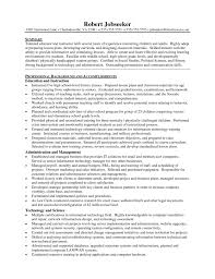 Example Resume For Teachers Best Gallery Of Teacher Resume Objective Sample Best Collection Middle