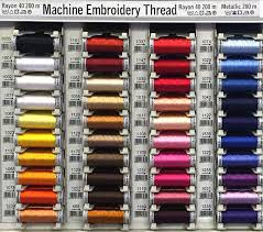 Printable Dmc Embroidery Floss Color Chart Gütermann Sulky Embroidery Thread Color Chart