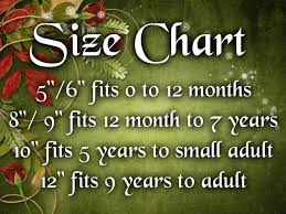 Crochet Tube Top Size Chart Baby Clothes Sizes Crochet