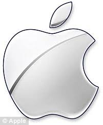 apple logo white on black. copy link to paste in your message apple logo white on black