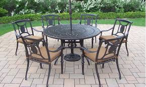 Patio Chairs On Table