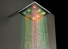 Image result for illuminated shower head