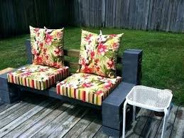 outdoor furniture cushions. Cinder Block Patio Furniture Outdoor Cushions Bench My Outside Blocks 6 Some And
