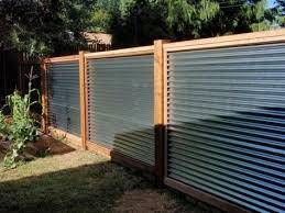 corrugated metal privacy fence. Wonderful Fence 40 Simple Minimalis Fence For Huse Design Ideas Home Corrugated  Metal By Lorraine And Privacy Pinterest