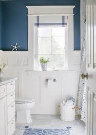 My favorite part about this bathroom is the board and batten wainscoting. I  wish I could claim credit for it, but a very talented carpenter did all the  ...