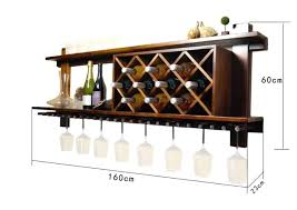 wooden wine racks wall mounted wall mounted wooden wine rack and glass holder cabinet floating intended wooden wine racks wall mounted