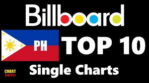 Spotify Charts Philippines Billboard Top 10 Philippine Single Charts January 01 2018 Chartexpress