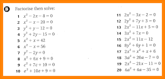 similar images for writing quadratic equations worksheet 1086919