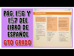 We did not find results for: Pag 156 Y 157 Del Libro De Espanol Sexto Grado Youtube