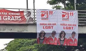 Indonesian Solidarity Party Denies Making Banners Saying Respect Lgbt Rights Coconuts Jakarta