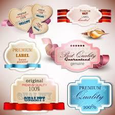 Label Design Free Beautiful Label Design 03 Vector Free Vector In Encapsulated