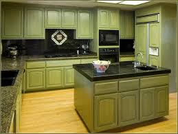 Distressed Kitchen Furniture Green Distressed Kitchen Cabinets Home Design Ideas