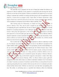 essay on good leader leadership essay pe a level physical  view larger