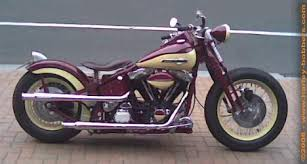 1990 harley classic softail bobber build with evolution engine by