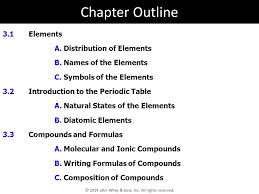 3 Elements and Compounds - ppt video online download
