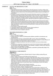 Entry Level Nurse Resume Nurses Resume Sample Format New Nurse Samples Matchboard Of Pdf 41