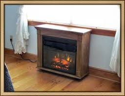lancaster 23in antique oak electric fireplace roll away mantel package 23rm905 o103