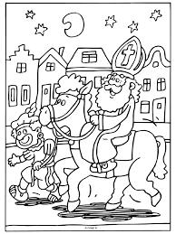 Kleurplaat Zwarte Sinterklaas Sinterklaas Sinterklaas En En Zwarte