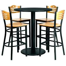 round high top table and chairs bar top table sets outdoor high top table set patio