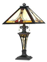 Tiffany Lamp Shade Dale Replacements Stained Glass Lampshade