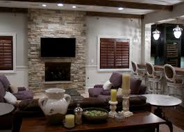 Modern Stone Veneer Fireplace  CpmpublishingcomStacked Stone Veneer Fireplace