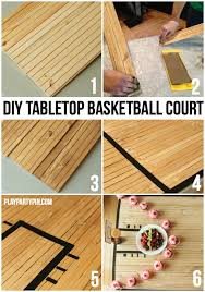 diy tabletop ideas. how cool is this diy tabletop basketball court, site has a ton of fun diy ideas x