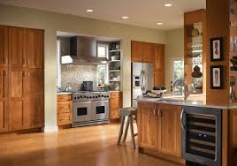 Kitchens With Cherry Cabinets Stunning Cherry Kitchen In Honey Spice KraftMaid