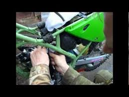 kx80 disassembly of thepiston system kx80 1997