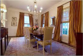 Charming Formal Dining Room Curtains Including Enthralling Stylish - Modern dining room curtains