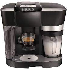 Making a latte or cappuccino in just 3 easy steps: Amazon Com The Keurig Rivo Cappuccino And Latte System Single Serve Brewing Machines Kitchen Dining