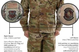 Army Deployment Patch Chart 2019 Current Uniform Patches Ok For Air Force Ocp For Now