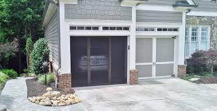 jobar s instant single car garage door screen designs