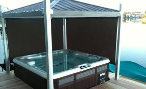 images of of covana hot tub cover