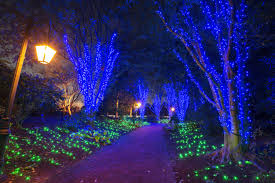 dominion gardenfest of lights features over 500 000 holiday lights hand crafted botanical decorations