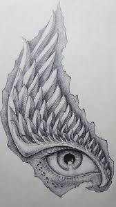 Motiv Tetování Oko 1072