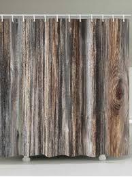 vintage shower curtain. Retro Wood Grain Printed Bath Decor Shower Curtain Vintage