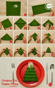 How To Fold Christmas Tree Napkin | DIY Tag | DIYTag | Pinterest | Christmas  tree napkins, Napkins and Christmas tree