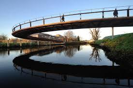 Timber Cantilever Bridge Design Curved Bridge Pedestrian Bridge Bridge Bridge Design