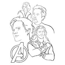 The Avengers Coloring Pages Fantasy Avengers How To Draw All