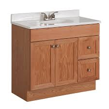 36 x 18 vanity. Delighful Vanity Project Source Oak Integral Single Sink Bathroom Vanity With Cultured  Marble Top Common 36 For X 18 8