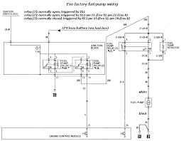 evo 6 wiring diagram evo image wiring diagram fuel pump wire high low voltage circuit evolutionm net on evo 6 wiring diagram